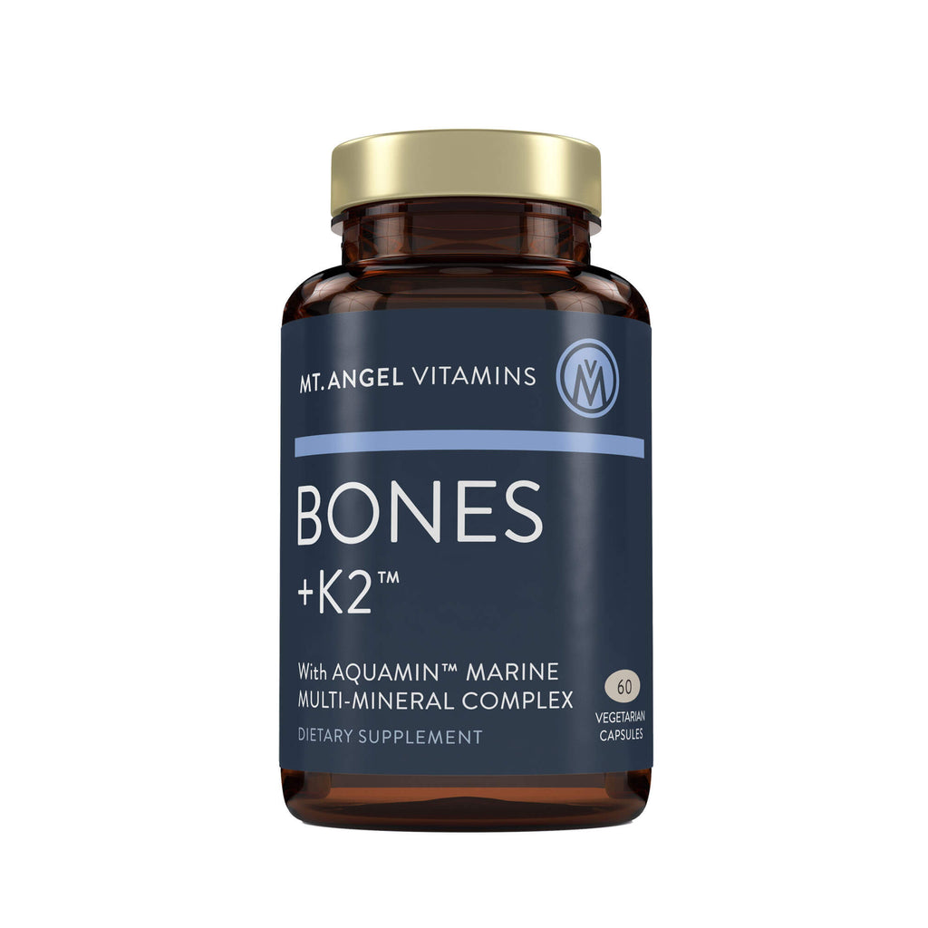 Bones + K2™ - Comprehensive Bone Support - 60 vegetarian capsules