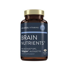 Brain Nutrients - Food For Thought - 60 Vegetarian Tablets
