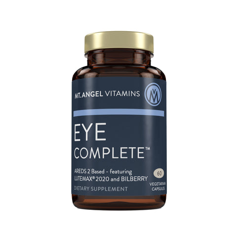 Eye Complete - Vision Health and Vitality Support - 60 Vegetarian Capsules