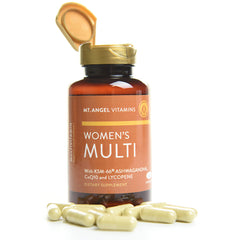 Women's Multi-Vitamin - 60 capsules: Supports Overall Wellness