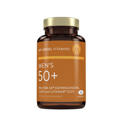 Men's 50+ Multivitamin - 60 capsules: Supports Overall Wellness