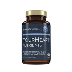YourHeart Nutrients - Supports Normal Cholesterol Levels - 60 Tablets