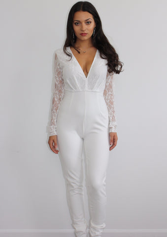 Laced with Love Jumpsuit