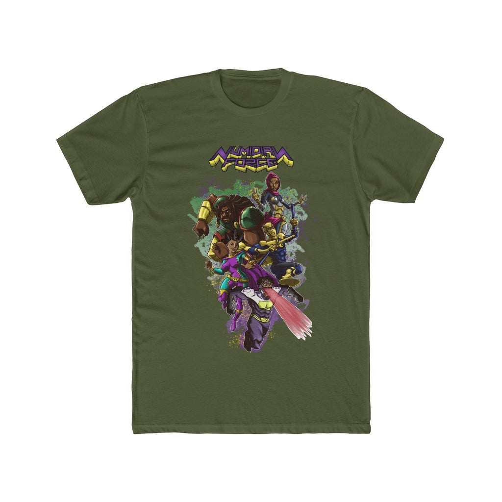 Numidian Force Cotton Crew Tee - Numidian Force Shop | Official Site for Numidian Force Merchandise