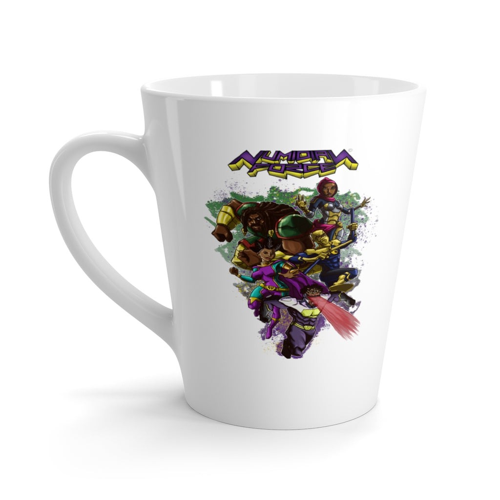 Numidian Force Latte Mug - Numidian Force Shop | Official Site for Numidian Force Merchandise