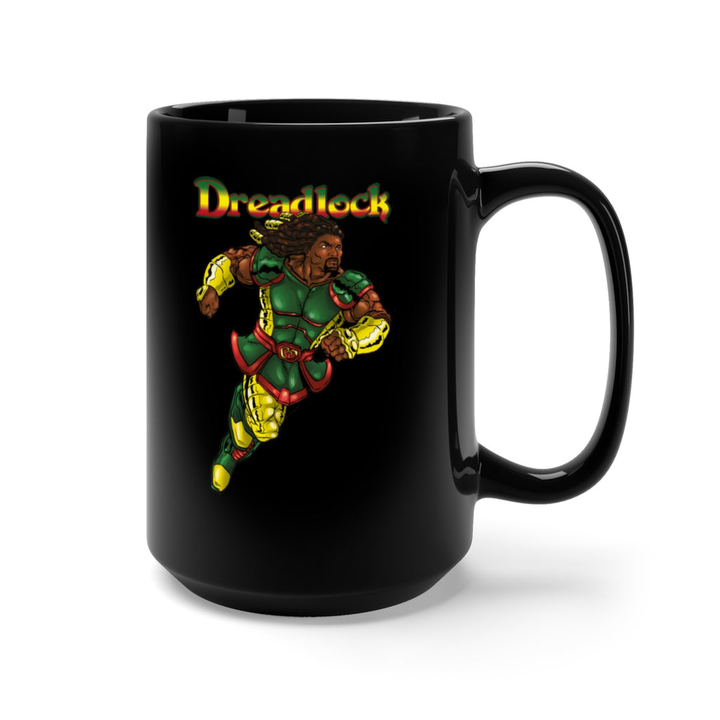 Dreadlock Black Mug 15oz - Numidian Force Shop | Official Site for Numidian Force Merchandise