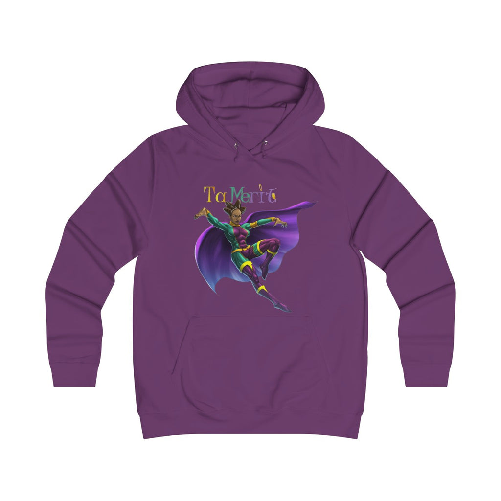 Tamerit Girlie College Hoodie - Numidian Force Shop | Official Site for Numidian Force Merchandise