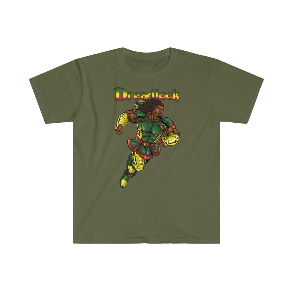 Dreadlock Fitted Short Sleeve Tee - Numidian Force Shop | Official Site for Numidian Force Merchandise