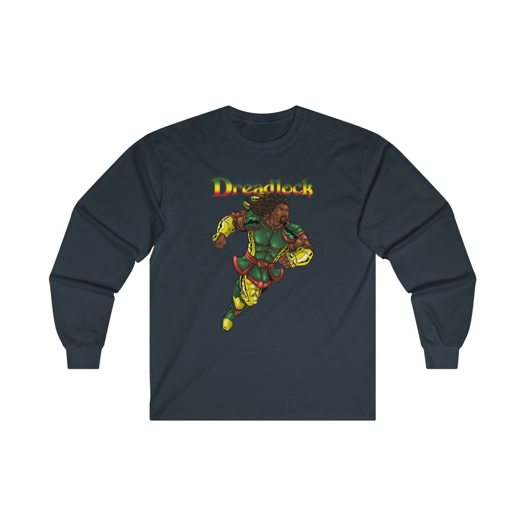Dreadlock Ultra Cotton Long Sleeve Tee - Numidian Force Shop | Official Site for Numidian Force Merchandise