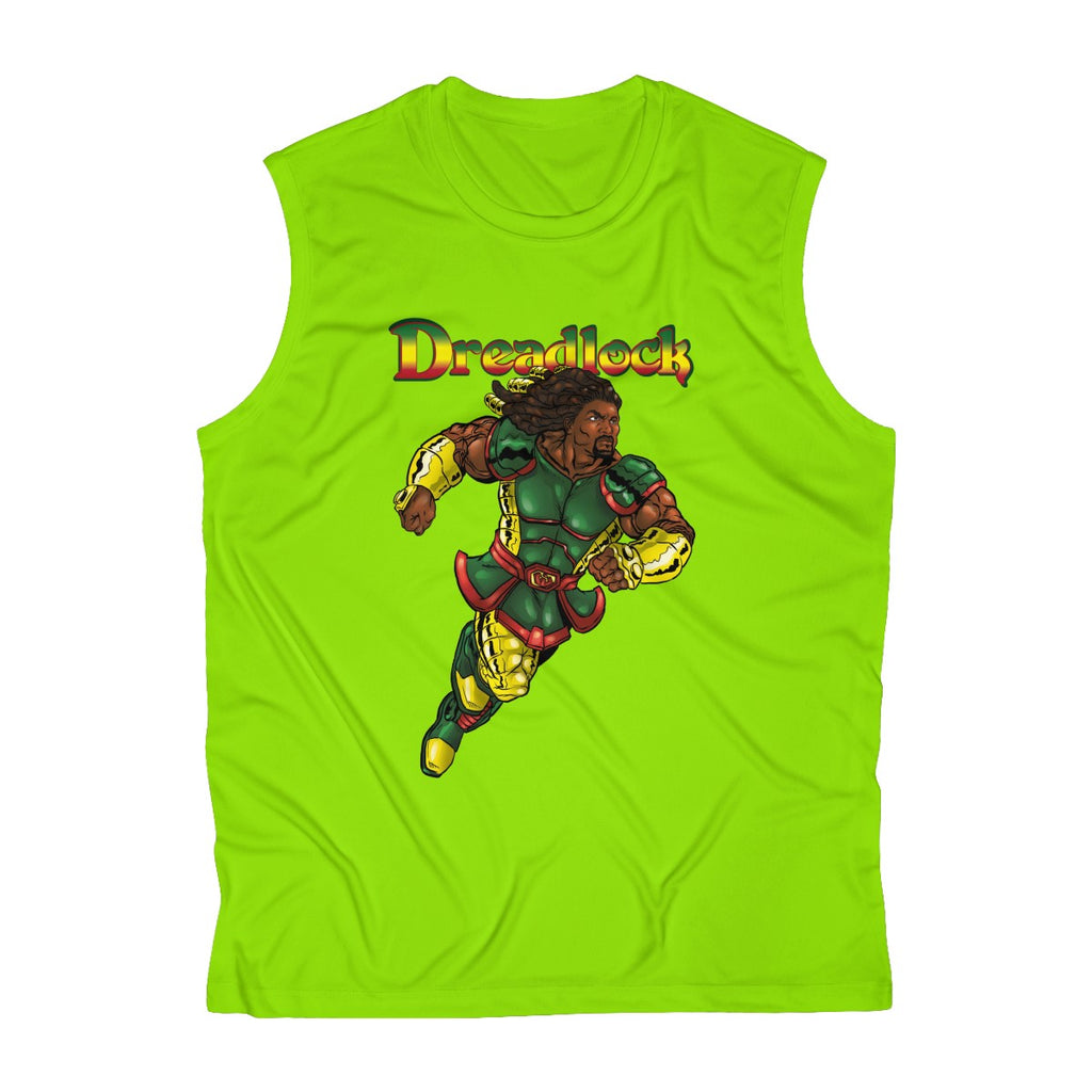 Dreadlock Sleeveless Performance Tee - Numidian Force Shop | Official Site for Numidian Force Merchandise