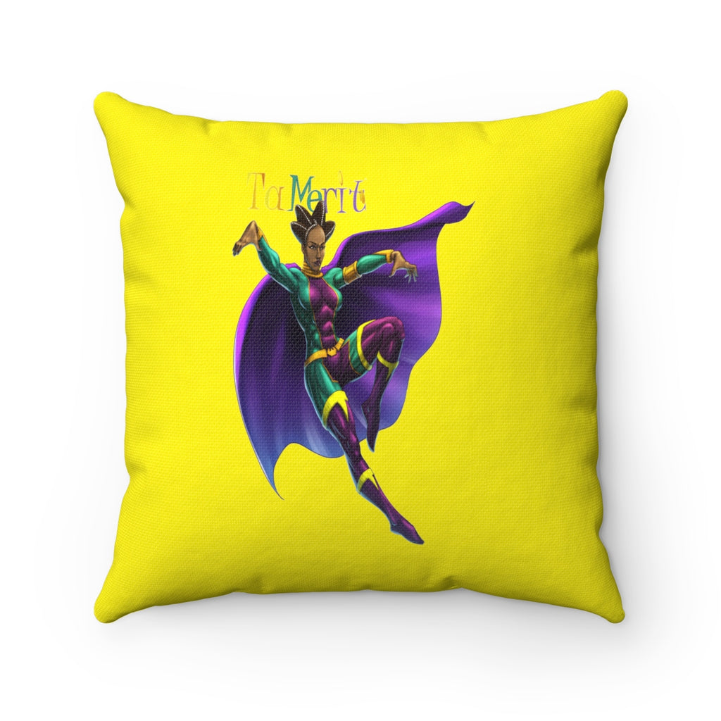 Tamerit Spun Polyester Square Pillow - Numidian Force Shop | Official Site for Numidian Force Merchandise