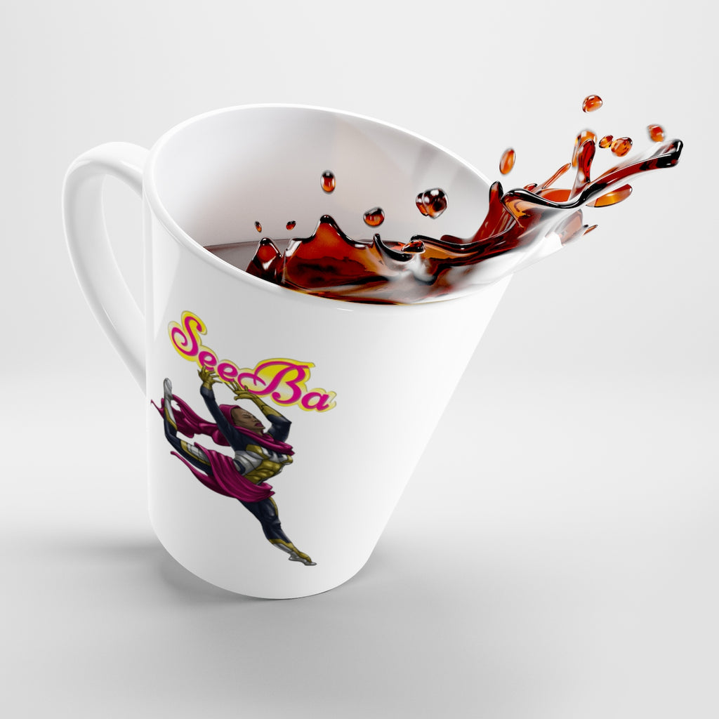 SeeBa Latte Mug - Numidian Force Shop | Official Site for Numidian Force Merchandise