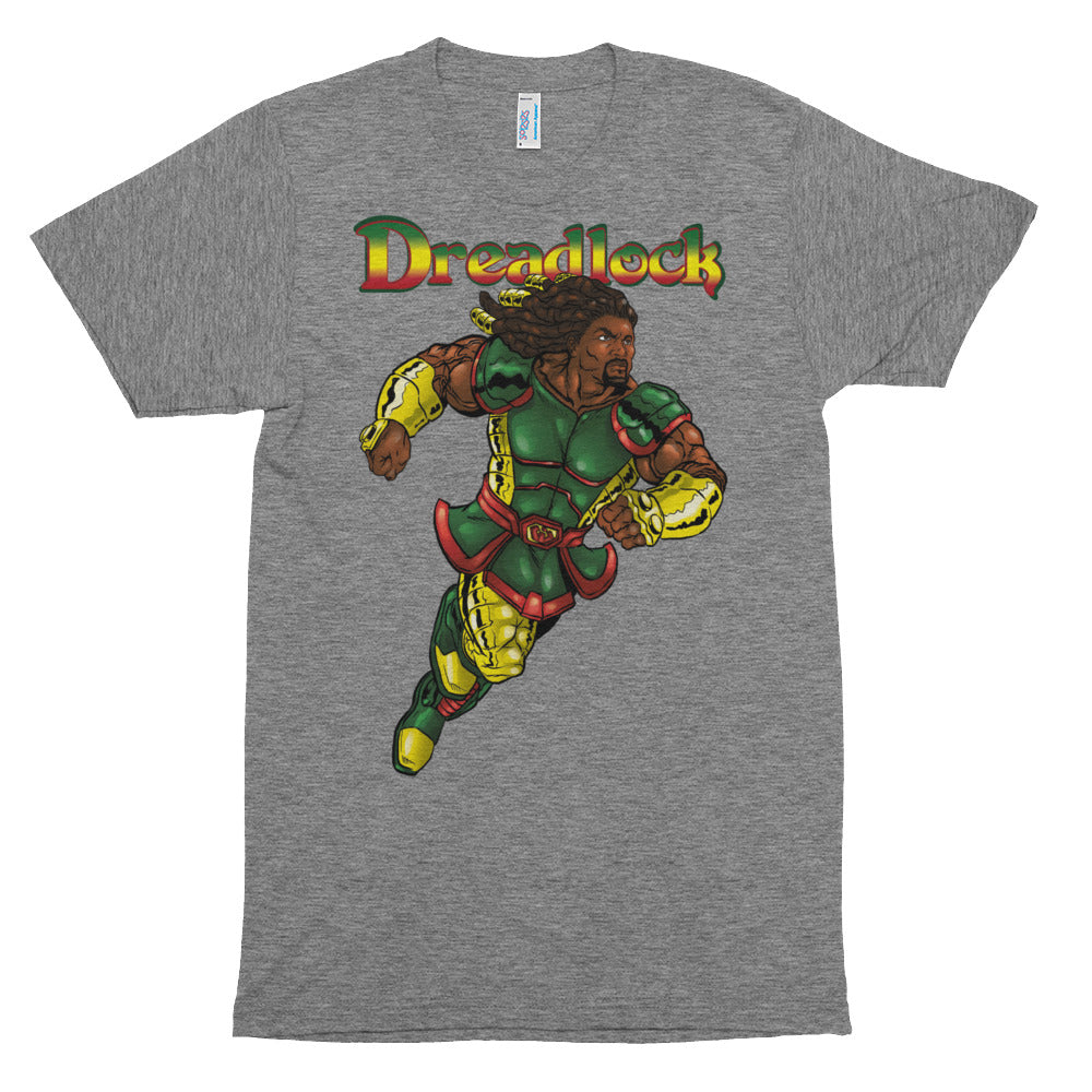 Dreadlock American Apparel TR401 Unisex Tri-Blend Short Sleeve Track Shirt - Numidian Force Shop | Official Site for Numidian Force Merchandise