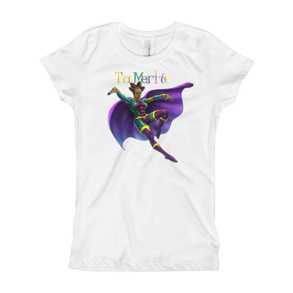 Next Level 3710 Girl's The Princess Tee with Tear Away Label - Numidian Force Shop | Official Site for Numidian Force Merchandise