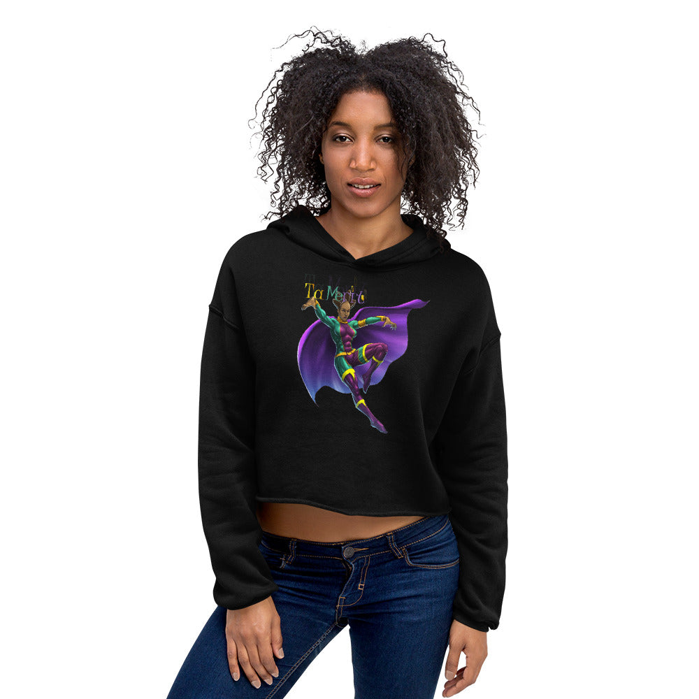 TaMerit  Bella + Canvas 7502 Women's Fleece Crop Hoodie - Numidian Force Shop | Official Site for Numidian Force Merchandise