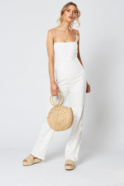 Winona | Paddington Jumpsuit - White