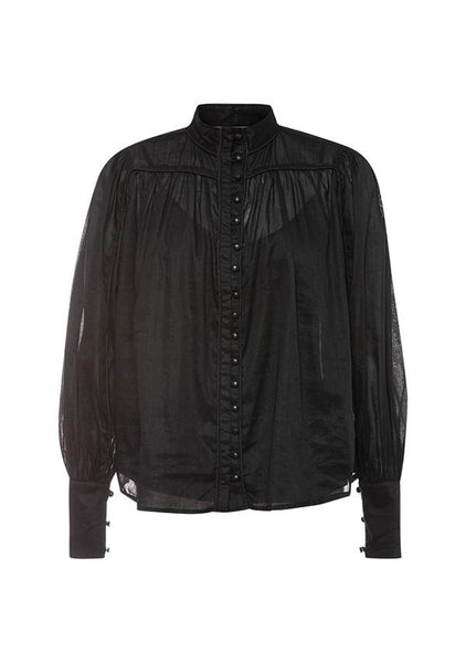 Ministry Of Style | Belle Of Bloom Shirt Black