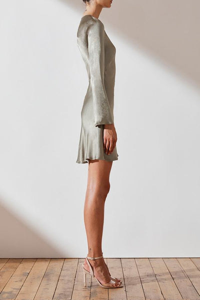 Shona Joy | Joan L/S Bias Mini Dress