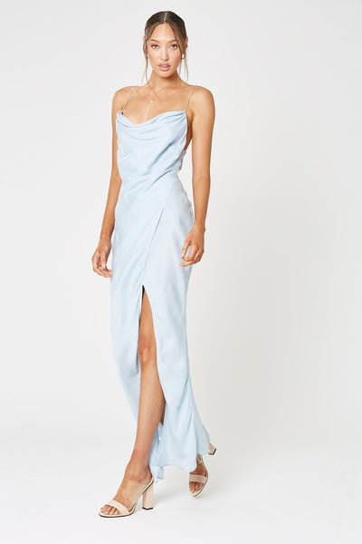 MEZZO MAXI DRESS BLUE