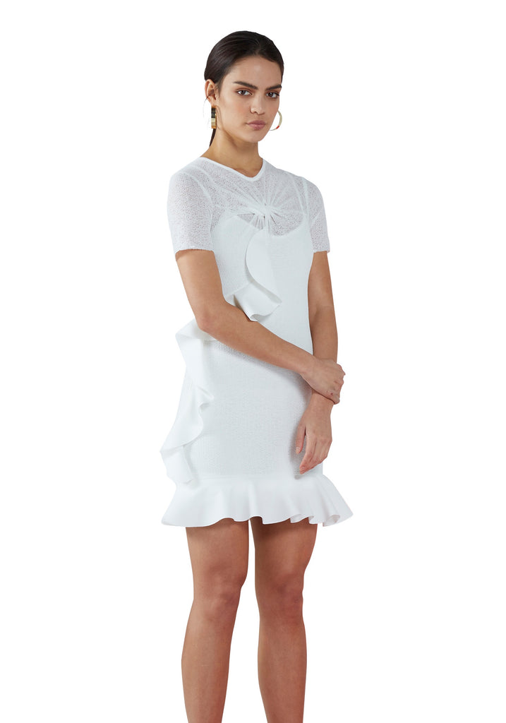 By Johnny | Knit Twist Tee Mini Dress
