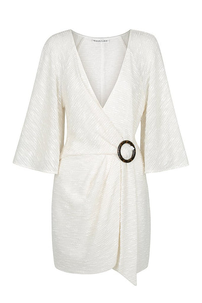 Shona Joy | Ortiz Draped Kimono Mini Dress