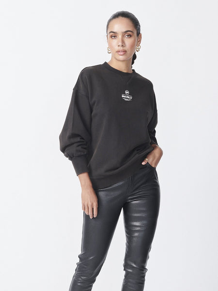 Ena Pelly | Core Logo Sweatshirt - Black