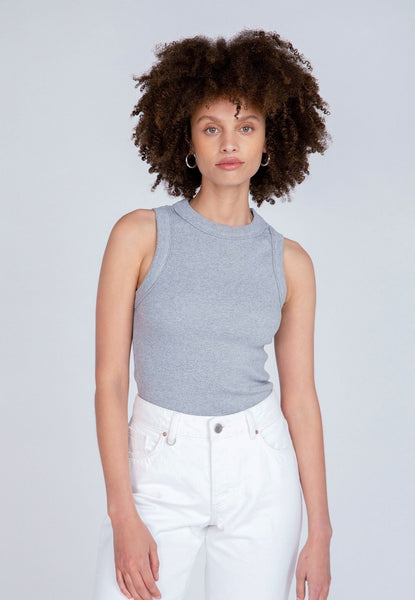 Neuw Denim | Jonesy Singlet Grey Marle
