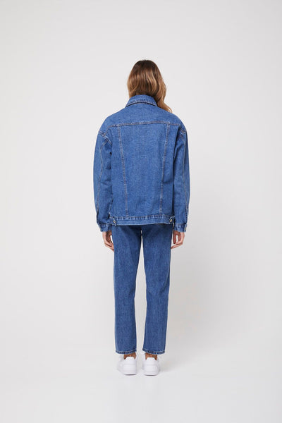 Rozalia X Atoir | THE DENIM JACKET WASHED BLUE
