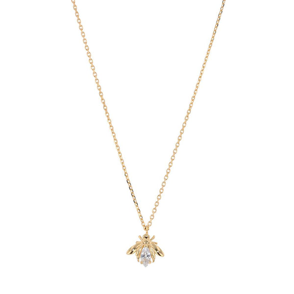 Jolie & Deen | Crystal Bee Necklace