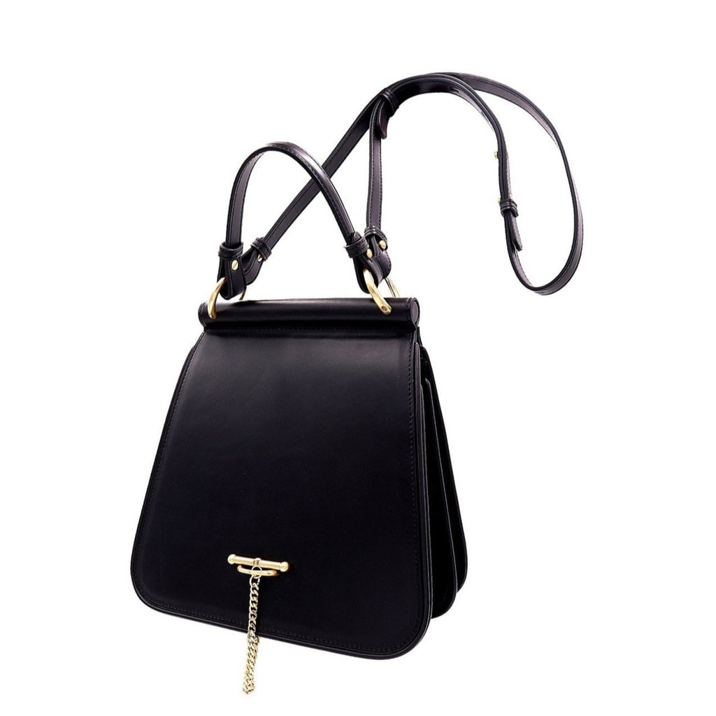 The laural satchel BLACK