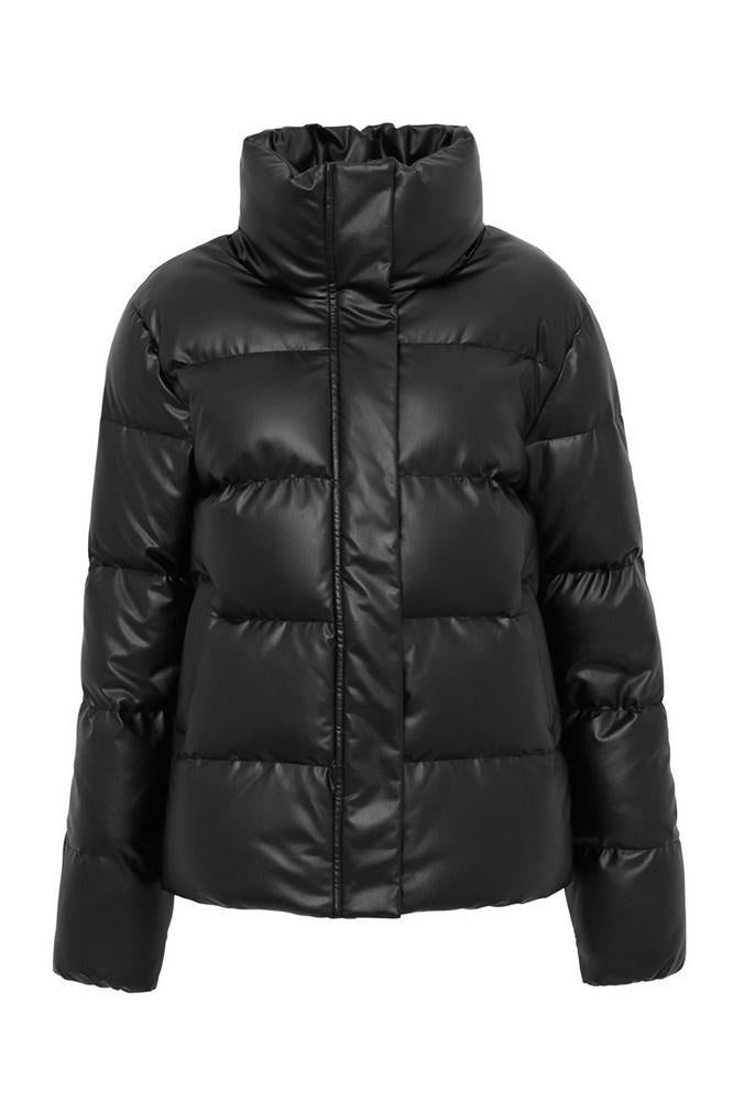 Major Tom Puffer Jacket - Black
