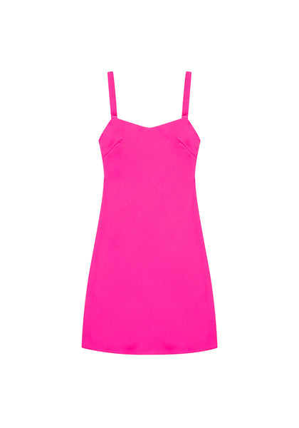 By Johnny | Neon Bias Mini Dress