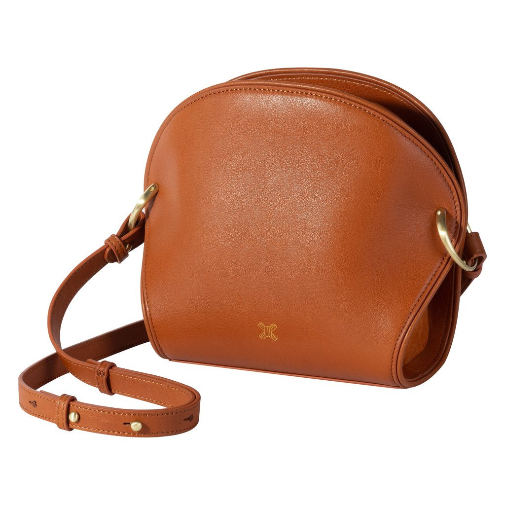 The ayumi mini bag COGNAC