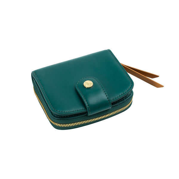 The faye wallet HUNTER GREEN