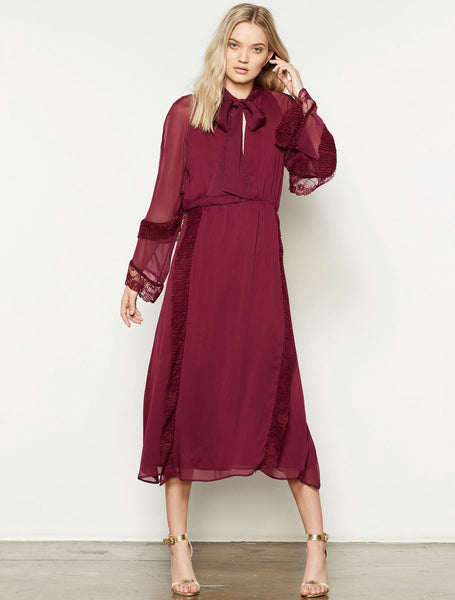 Stevie May | Juliet Long Sleeve Midi Dress
