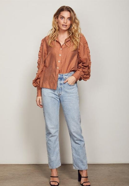 Wish | Palette Shirt Cinnamon