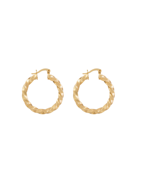 Love Isabelle | Gold Plated Elisha Hoops