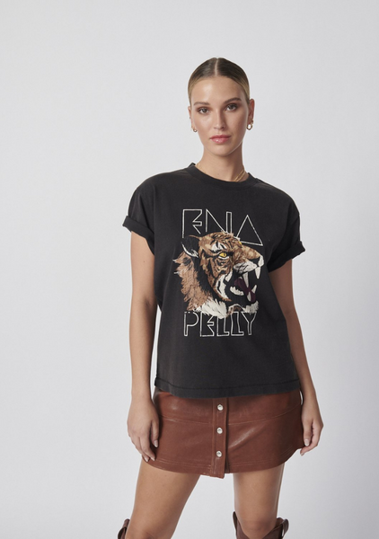 Ena Pelly | Wilderness Tee - Washed Black