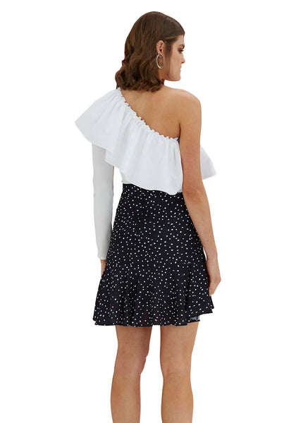 By Johnny | Cotton Wave Shoulder Top