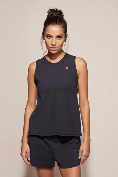 Dk Active | Perry Cotton Tank Navy