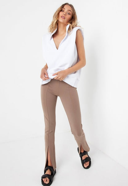 Madison The Label | Henley Zip Pants