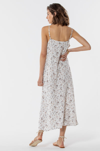 Magnolia Slip Dress Twig Floral