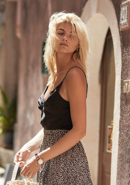 Auguste The Label | Keepsake Cami Charcoal