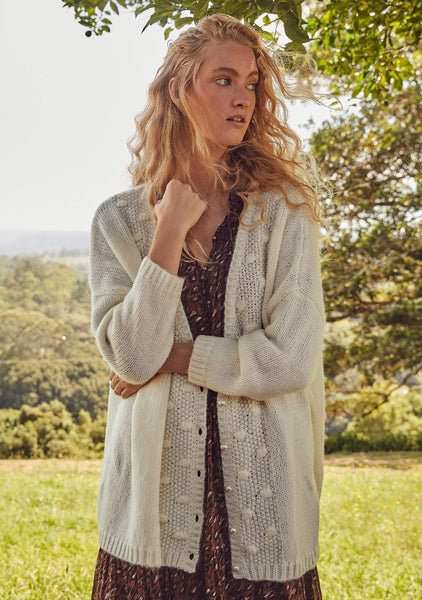 Auguste | West Cardigan - Ivory