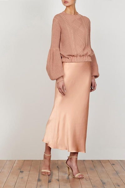 Shona Joy | Wright Bias Midi Skirt