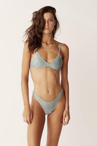 Suboo | Sage High Cut Bikini Bottoms