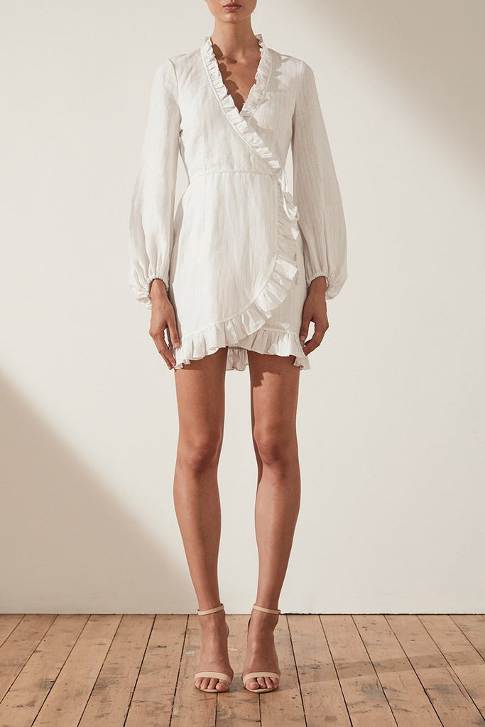Shona Joy | Holden Wrap Mini Dress