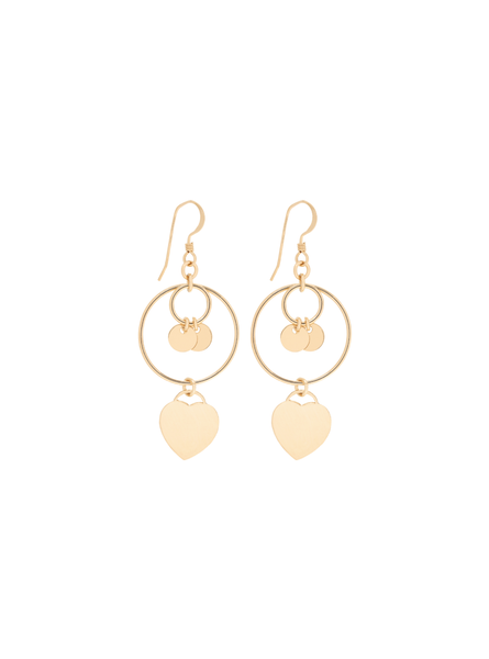 Gold Filled Claudia Earrings