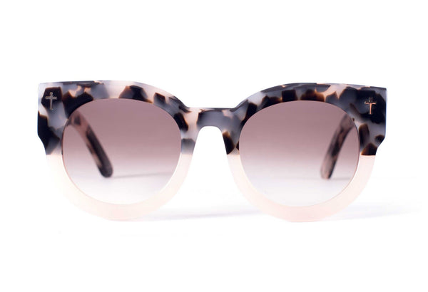 Valley Eyewear | A Dead Coffin Club | Baby Pink to Tort Fade