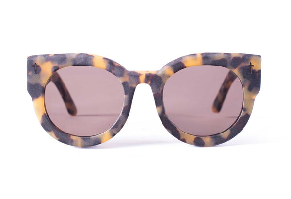 Valley Eyewear | A Dead Coffin Club | Matte Torte / Brown Lens